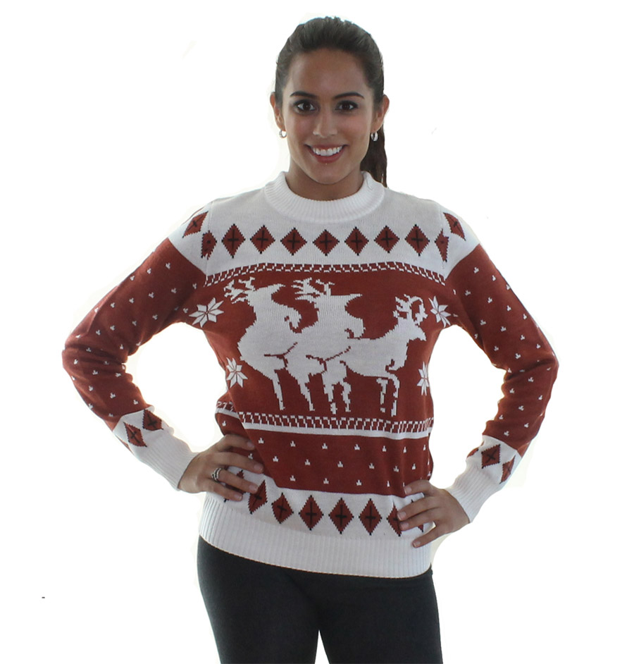 Satanic Christmas Sweater.Satanic Christmas Sweaters Let You Flip The Bird Or Goat